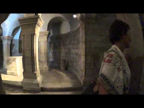 Virgin Mary, Please Listen to your sons - Abbey of the Dormition in Jerusalem on Mt. Zion