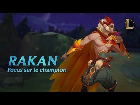 Focus sur Rakan | Gameplay – League of Legends