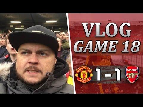 Man United 1 v 1 Arsenal   F*CK OFF Mourinho   Matchday Vlog Game 18