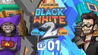 "Pokémon Black 2 & White 2 Soul Link Randomized Nuzlocke w/ ShadyPenguinn! - Ep 1 ""NAPPY'S LUCK"""