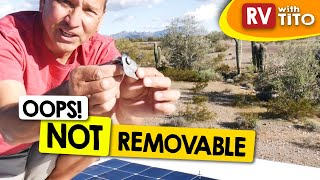 (Update) One Year Later - Flexible Solar Panel Installation on RV