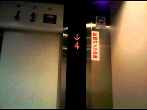 Mitsubishi Traction Elevator at Atre 2, Akihabara Tokyo (Part 2)