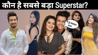 Top 10 Tik Tok Star In India | Riyaz aly, Mr faisu,jannat Zubair,Avneet kaur, | Net Mechanics