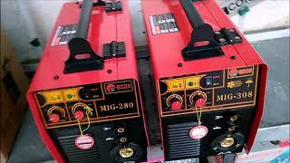 Видео обзор полуавтомат Edon MIG - 280 / 308 комплектация и работа