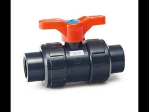 아성 크린 PVC 밸브 (Clean PVC Union Ball Valve).아성크린후로텍(주).BWP
