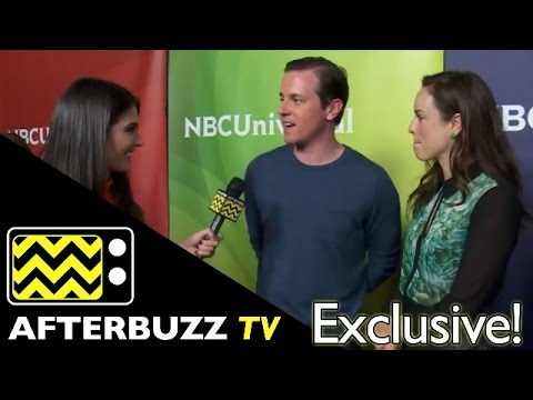 Michael Mosley & Jessica McNamee of USA's Sirens @ NBC Universal's Winter Press Tour | AfterBuzz TV