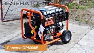 Generac GP 6000 E бензиновый генератор 6,6 кВт, видео обзор.(Посмотреть подробные характеристики и купить генератор можно по ссылке: http://generator.ua/ru/vse-generatory/1224-generator-generac-g..., 2015-05-23T12:36:53.000Z)