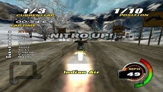 Nitrobike PS2 Gameplay HD (PCSX2)