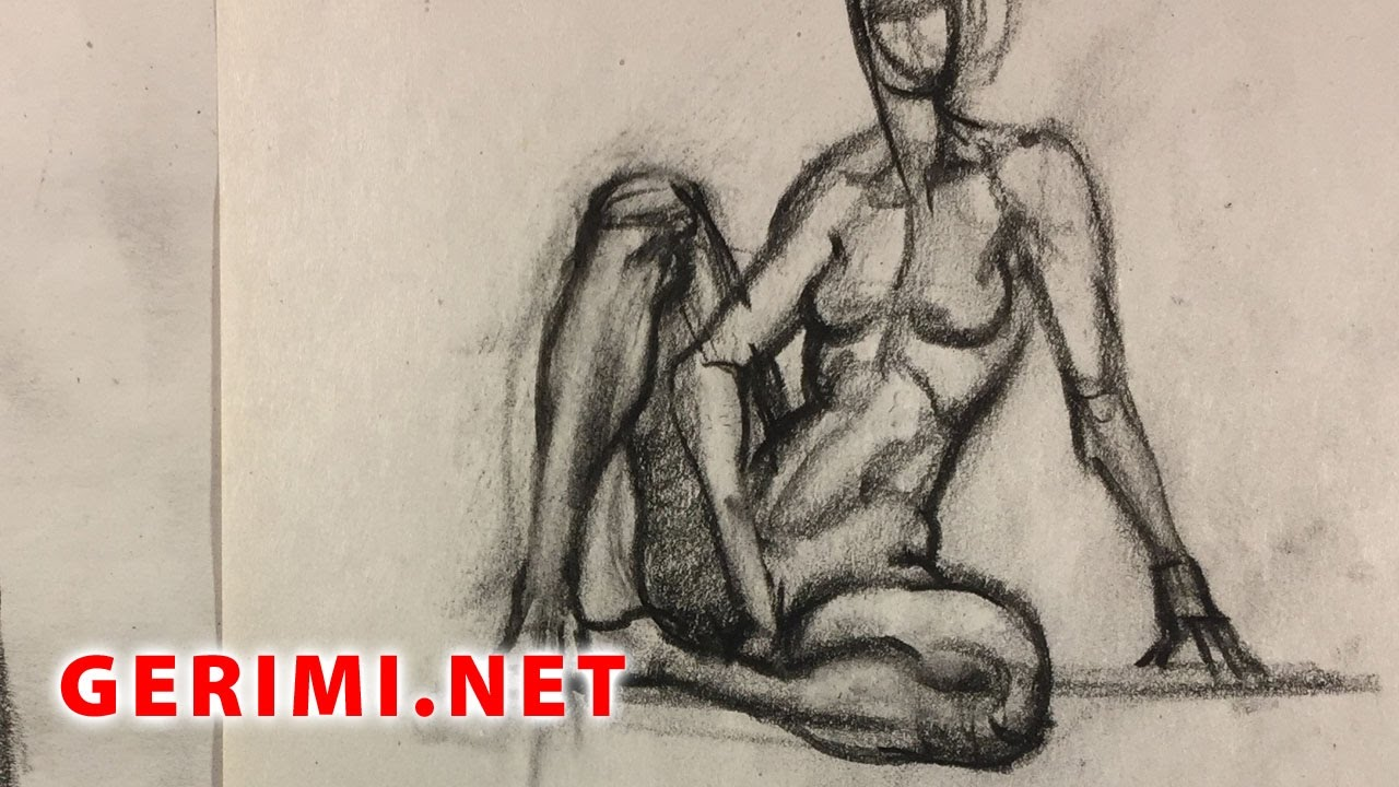 Figure Drawing Nightmares - April - YouTube