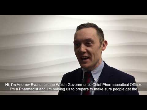 Andrew Evans : Chief Pharmaceutical Officer For Wales