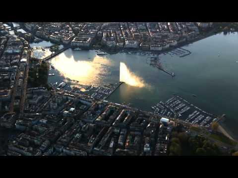 Geneva (Switzerland) - Aerial view