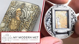 Hand-Engraved Coins & Lighters by Roman Booteen
