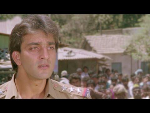 Sanjay Dutt, Amrish Puri - Ilaaka Scene 12/20