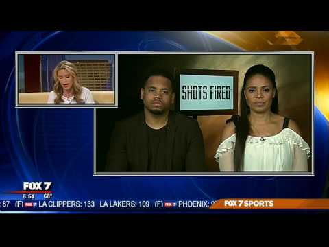 "Mack Wilds & Sanaa Lathan talk about ""Shots Fired"" 
