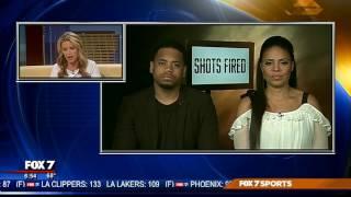 "Mack Wilds & Sanaa Lathan talk about ""Shots Fired"" | 3/2017"