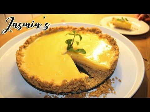 The Best Lemon Tart (no Baking) - Super Easy