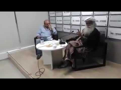 Sadhguru speaking about tamil language