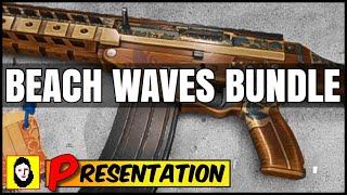 *NEW* BEACH WAVES BUNDLE - SEASONAL UNIVERSAL WEAPON SKIN - BOARD COVE - Rainbow Six siege