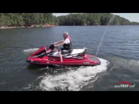 Yamaha VX Limited Test 2016- By BoatTest com