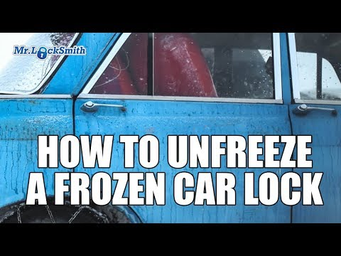 How To Unfreeze A Frozen Car Lock Mr Locksmith Video Youtube