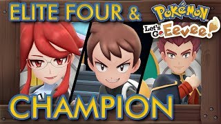 Pokémon Let's Go Pikachu & Eevee - Elite Four & Champion Battle