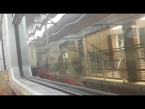 Sofia metro line1 and 2 From Vitosha to G.M. Dimitrov | Метро София  Метровагонмаш 81-717 | Part 2