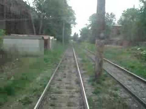 Big tram trip across Omsk part 2 on 26th May 2006