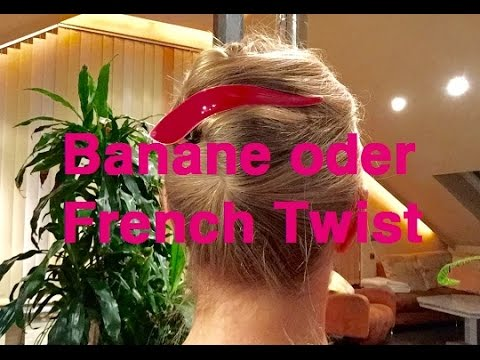 Frisur Anleitung Banane French Twist YouTube