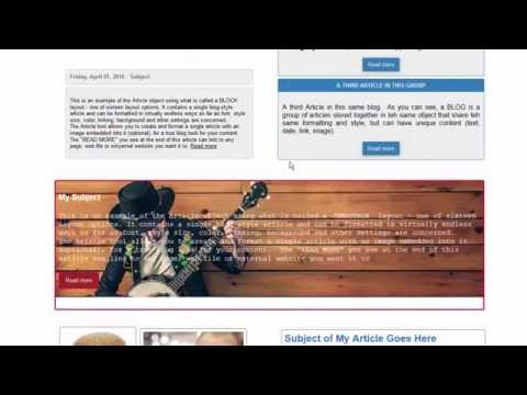 Making a Blog-Style Website with 90 Second Website Builder