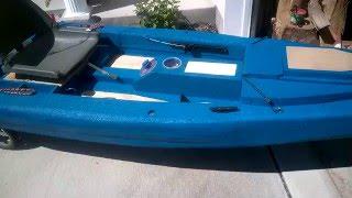 BattleYak: Sneak peak at my latest kayak build--a foam fishing kayak