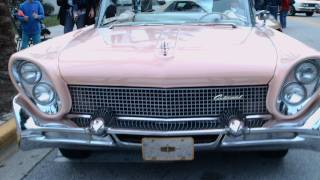 1958 Lincoln Continental Mark III Convertible Coral