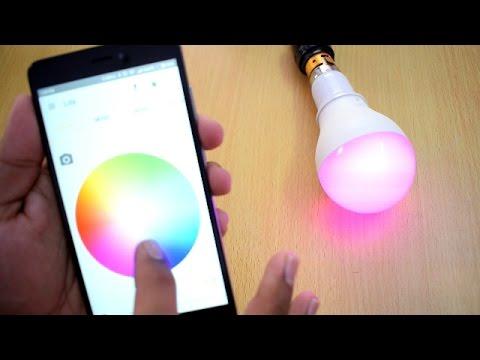 Bluetooth Smart LED Bulb with Music Sync | Iota Lite Review [ Hindi ]