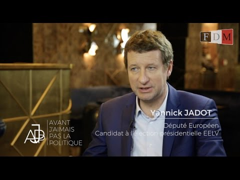 Yannick Jadot - Avant, j'aimais pas la politique - #AJPP - FDMTV