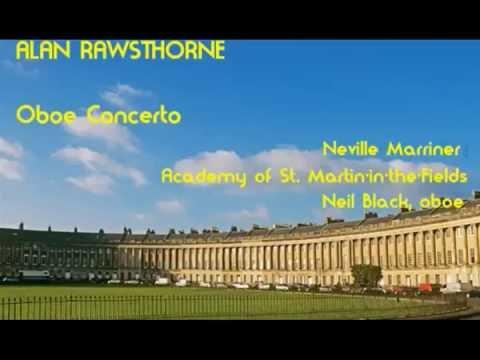 Alan Rawsthorne: Oboe Concerto [Marriner-ASMF-Black]