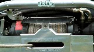 Two Speed Hydraulic Winch