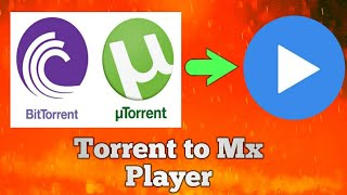 How to watch new movies from torrent using MX player