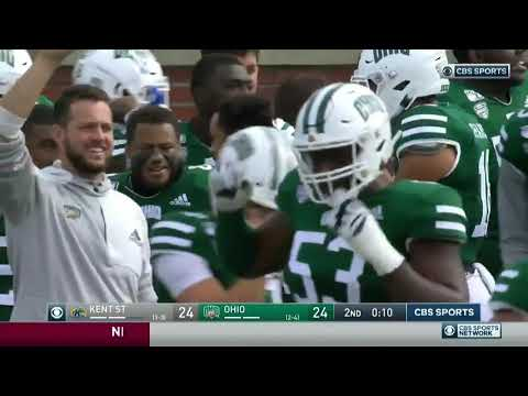 Nolan, Malone, Kullik and Tracey - Onside Kick Recovered After Ball Ricochets Off Player's Helmet