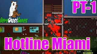 Hotline Miami 2 Gameplay Playthrough Part 1 - Exposition (PC)