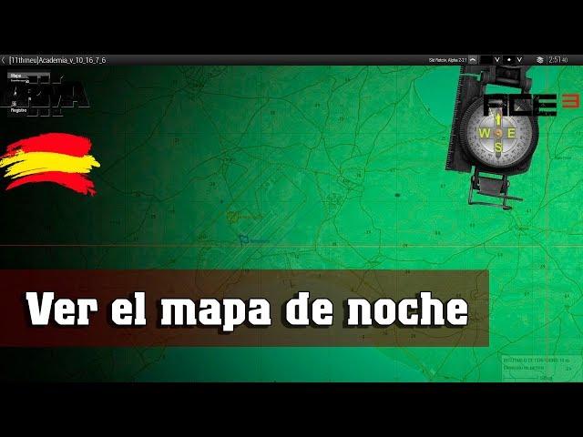 Arma 3 | Ver el mapa de noche | ACE