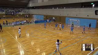 7日 ハンドボール女子 国体記念体育館Dコート 聖和学園×高水 3回戦 2