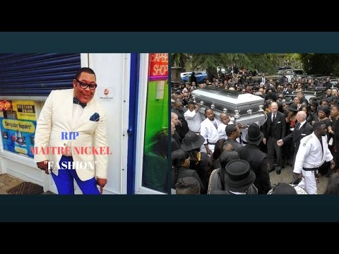 "Funeral of Maitre Nickel KIPEWU  "" FASHION """