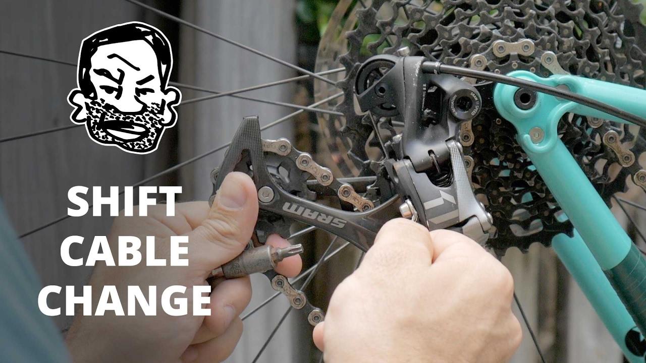 4e196b64401 How to change a shift cable on your MTB. Seth's Bike Hacks