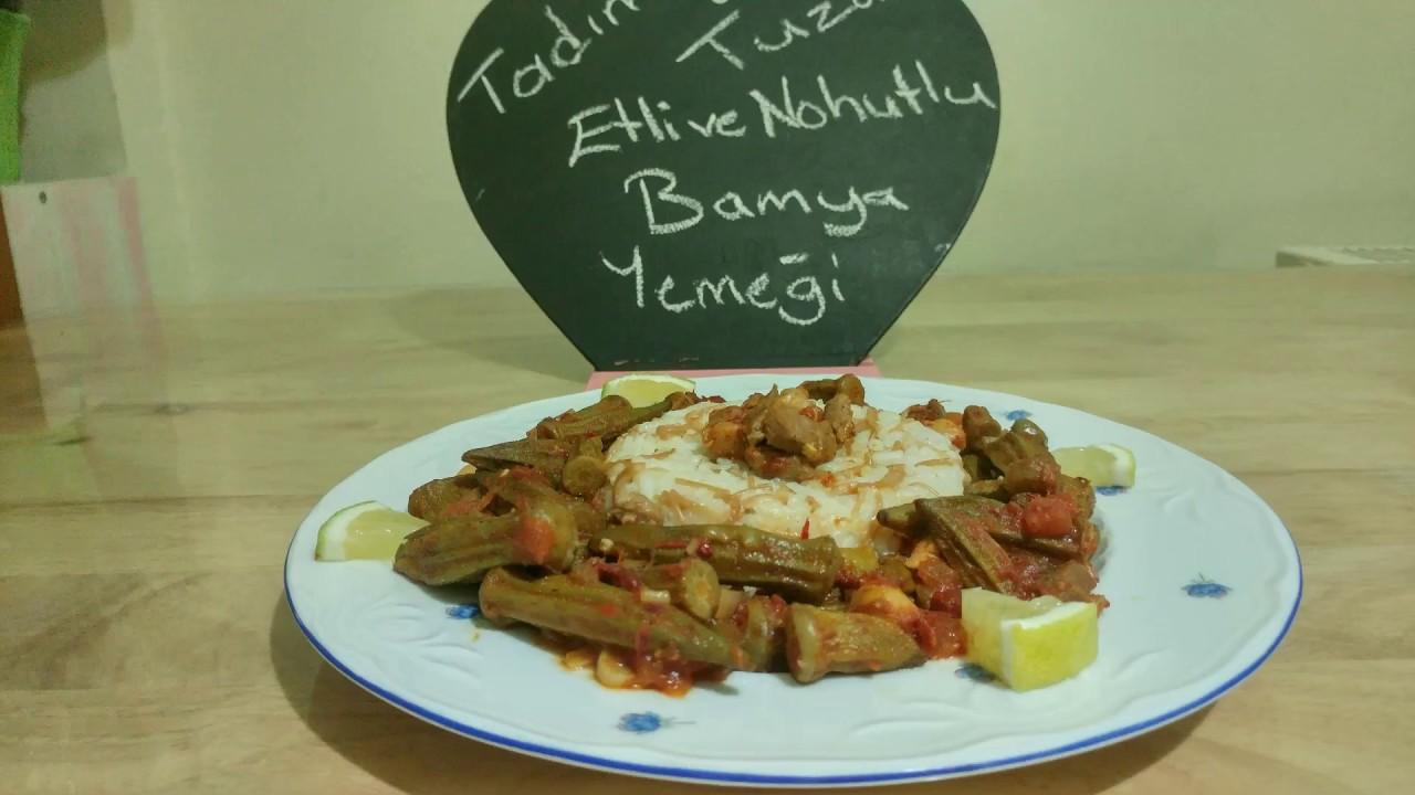 Nohutlu Bamya Tarifi