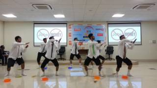 funniest group dance performance by chavat boys official at corporate event