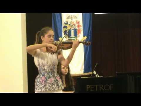 Raff: Cavatina. Performance by Csenge Dósa