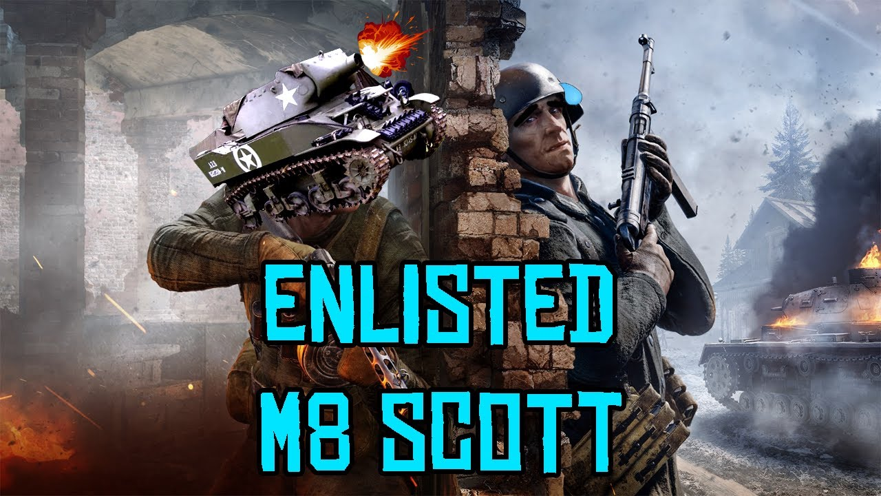 Download ENLISTED | M8 SCOTT GAMEPLAY | NORMANDY