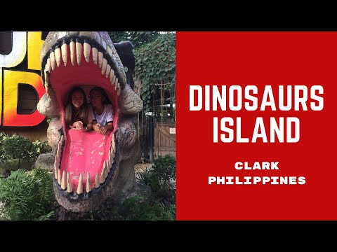 ENCOUNTERING REAL LIFE DINOSAURS! | Dinosaurs Island Clark Philippines