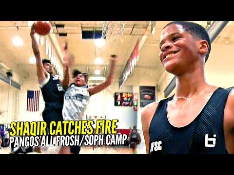 Shaqir O'neal Catches FIRE! NASTY POSTER ALERT! Ken Simpson SHOWS OUT at Pangos All Frosh/South
