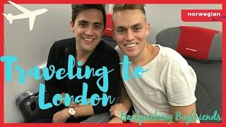 TRAVELING TO LONDON | Norwegian Airlines | TRAVEL VLOG