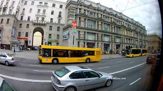 7  Минск, Беларусь, экскурсия, лето 2019,на автобусе по городу часть 2